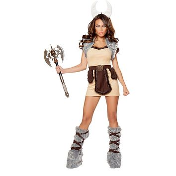 Girl's Valkyrie Viking Halloween Costume