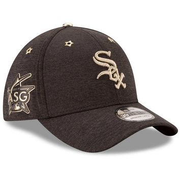 Chicago White Sox Black 2017 All Star Game 39THIRTY Flex Fit Hat By New Era