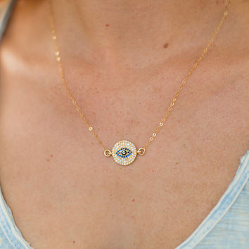 Gage Huntley Protector Necklace - Gold