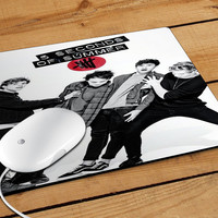 5 Second Of Summer There'S No Place Like Home Mousepad | Aneend