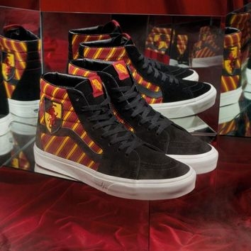 Vans x Harry Potter GRYFFINDOR Authentic Shoes Original Sneakers Ready Stock Gryffindor