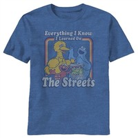Learned On Sesame Street T-Shirt | Vintage TV Show T-Shirt