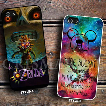 The legend of zelda majora mask & Galaxy Nebula Adventure Time Quotes