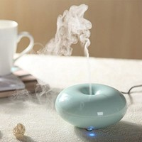 Eiiox 160ml Ultrasonic Aroma Essential Oil Diffuser, Seven Color Changing