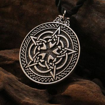 Knot Pentacle for Protection Necklace
