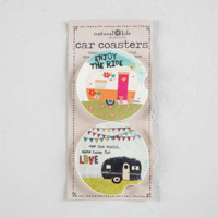 Camper Car Coasters - Set of 2