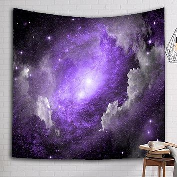 Swirling Galaxy Tapestry