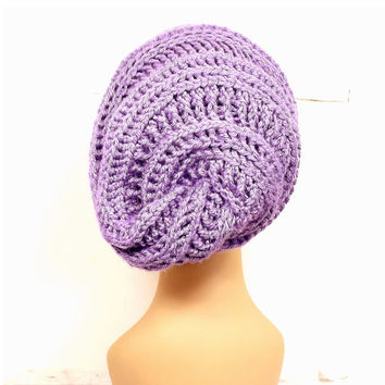 Crochet Pattern Hat, Crochet Hat Pattern, Crochet Slouchy Hat Pattern, Crochet Beanie Hat Pattern HAPPY SNAIL Slouchy Hat Crochet Pattern