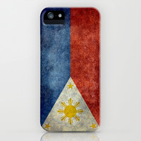 Republic of the Philippines national flag (50% of commission WILL go to help them recover) iPhone & iPod Case by Bruce Stanfield