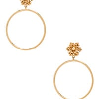 Dolce & Gabbana Hoop Earrings in Gold | FWRD