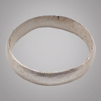 French Country Wedding Band, Viking Age Ring, C.866-1067A.D. Size 11 1/4  (20.5mm)(Brr845)