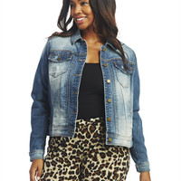 YMI Denim Jacket | Wet Seal+