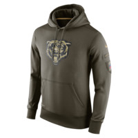 Nike Salute to Service KO Pullover (NFL Bears) Men's Training Hoodie