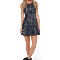 Deathly Hallows Reversible Skater Dress