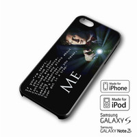 Tardis Doctor Who Quote iPhone case 4/4s, 5S, 5C, 6, 6 +, Samsung Galaxy case S3, S4, S5, Galaxy Note Case 2,3,4, iPod Touch case 4th, 5th, HTC One Case M7/M8