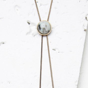 Faux Stone Bolo Necklace | Forever 21 - 1000113570