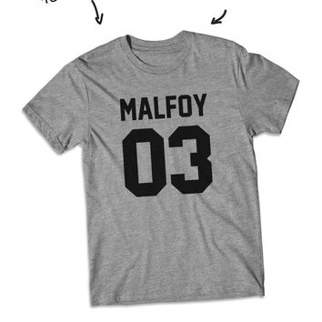 Malfoy 03 Draco Malfoy Harry potter shirt short Sleeve tshirt