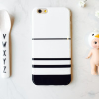 Fashion stripe plastic Case Cover for Apple iPhone 5s 5 6 Plus 6 -05011