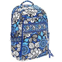 Vera Bradley Signature Print Laptop Backpack — QVC.com