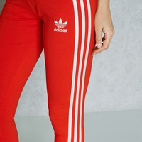 Charmvip | adidas Originals Fashion Red Running Leggings Sweatpants