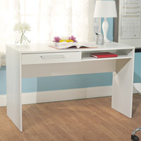 Simple Living White Taylor Writing Desk | Overstock.com Shopping - The Best Deals on Desks