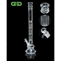 Grace Glass - Triple Dome Perc Beaker Base 7mm Glass Tube