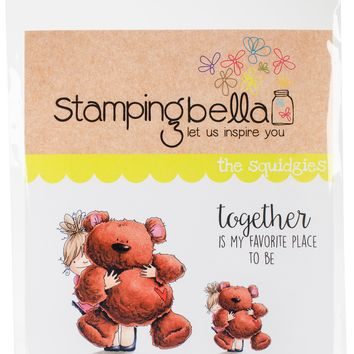 Stamping Bella Cling Stamps-Squidgy & Teddy
