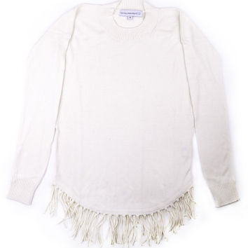 Central Park West Girls Fringe Sweater