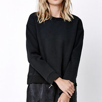 Obey Under Cover Crew Zip Fleece at PacSun.com