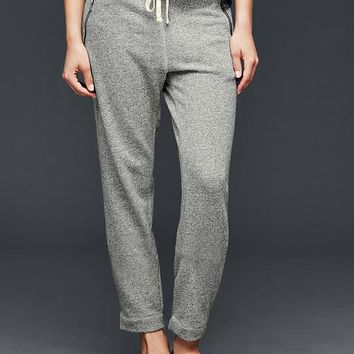 Gap Women Relaxed Marled Joggers