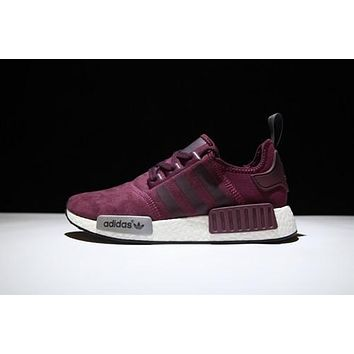 Burgundy NMD Runner