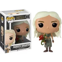 Funko pop Game of Thrones Daenerys Targaryen Action Figure Model Toy Vinyl Bobble Head Hot Sale