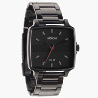 Nixon The Cruiser Watch All Gunmetal/Black One Size For Men 24945111201