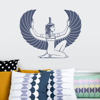 Isis Goddess Wall Decal