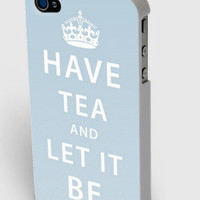 Have Tea and Let It Be iPhone4/4s/5 Case