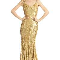 ZAC Zac Posen As Good as Gold Gown