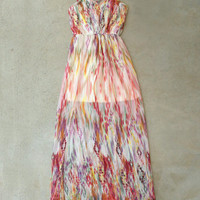 By the Water Maxi Dress [5652] - $42.00 : Vintage Inspired Clothing & Affordable Dresses, deloom | Modern. Vintage. Crafted.