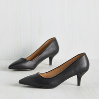 Sleek and Low Heel | Mod Retro Vintage Heels | ModCloth.com