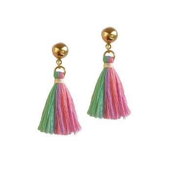 UNICORN TASSEL EARRINGS