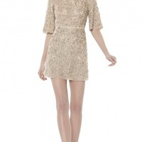alice + olivia | DRINA BELL SLEEVE DRESS