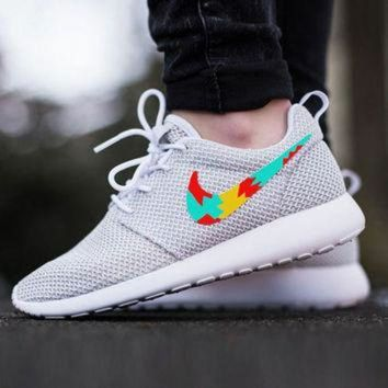 ONETOW Custom Nike Roshe Run sneakers, Womens nike, Tribal design, cute design, womens custom