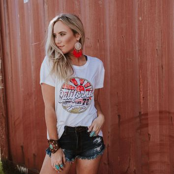Sunset Time Graphic Tee