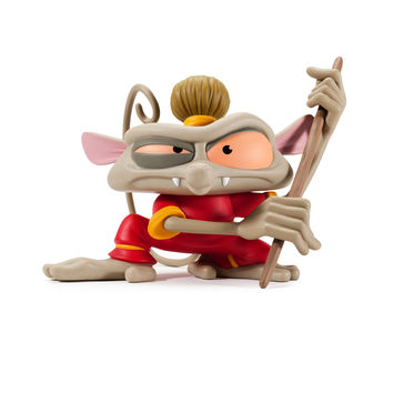 Best Fiends CNY Tarsier Monkey Medium Figure: Wu the Tarsier
