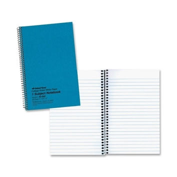 "rediform office products notebook, single subject, 6""x9-1/2"", college rule, blue Case of 10"