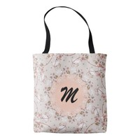 Monogram Vintage Floral Pattern Bag for Mother