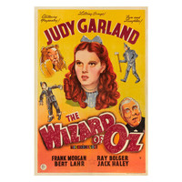 """The Wizard of Oz"" Film Poster"