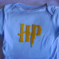 Harry Potter Onesuit size 912 months by giftitnow on Etsy
