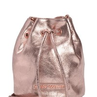 Couture Clash Leather Mini Bucket Bag by Juicy Couture