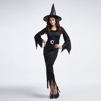Witch Cosplay Anime Cosplay Apparel Halloween Costume [9220657412]