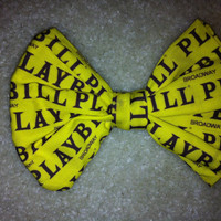 Reserved for Andrew Rodriguez Playbill/Mansion Hair Bow Tie